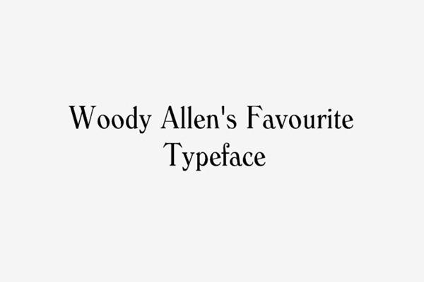 woody_allen_favourite font